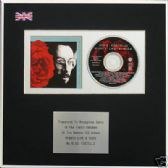 ELVIS COSTELLO - CD Album Award - MIGHTY LIKE A ROSE